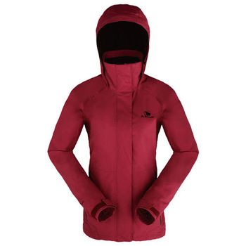 【聖伯納 St.Bonalt】女-防水防風外套-紫紅色 (4063)