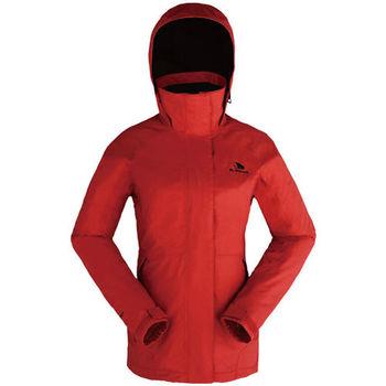 【聖伯納 St.Bonalt】女-防水防風外套-紅色(4063)