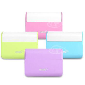 【HANG】粉彩化妝鏡-LED行動電源5200mAh(新色系登場)