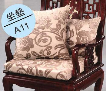 【DH 夢幻天堂】A11高級絨布緹花坐墊