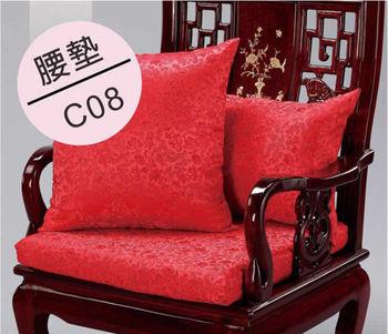 【DH 夢幻天堂】C08 綢緞緹花腰墊