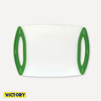 【VICTORY】雙孔抗菌彩色砧板#小(2入組)