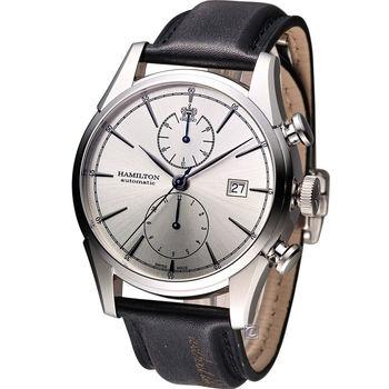 漢米爾頓 Hamilton Jazzmaster 新自由宣言計時機械腕錶 H32416781