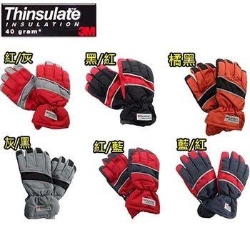 【3M】保暖防水反光手套(六色可選)