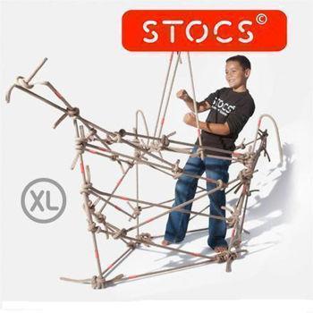 【荷蘭 STOCS】STOCS繩結組-XL(米色)