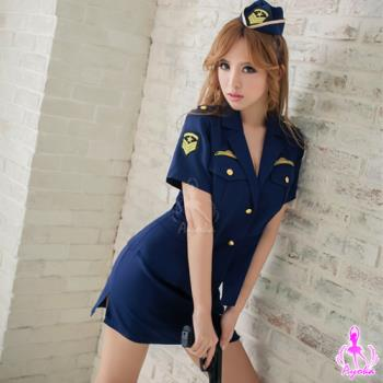 【Ayoka】海軍藍警察角色扮演服三件組
