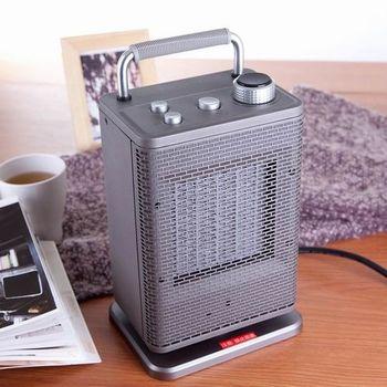 【唐姆笙】陶瓷電暖器TH1029S(銀)