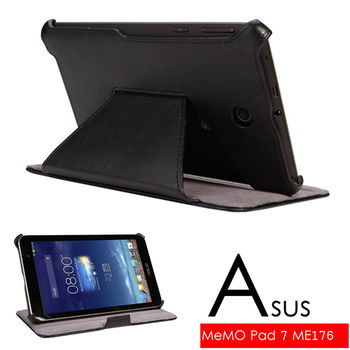 華碩 ASUS MeMO Pad 7 ME176 ME176C ME176CX 專用頂級薄型平板電腦皮套 保護套 可多角度斜立