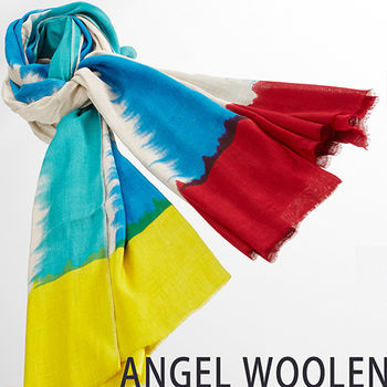 【ANGEL WOOLEN】渲染風情MODAL披肩(情)