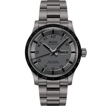 MIDO Multifort 先鋒系列【鈦】時尚機械腕錶-灰  M0184304406200