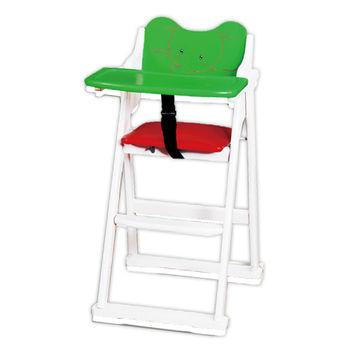【顛覆設計】卡哇伊大象折合兒童餐椅(全實木)