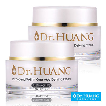 【Dr.HUANG黃禎憲】碧蘿芷All In One逆齡霜(30ml x2)