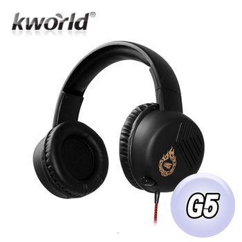 Kworld廣寰頭戴式電競耳麥G5
