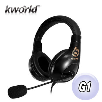 Kworld廣寰頭戴式電競耳麥G1