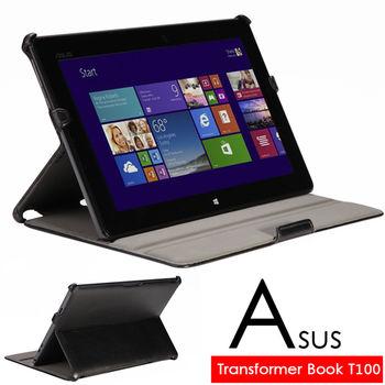 華碩 ASUS Transformer Book T100 T100TA 專用頂級薄型平板電腦皮套 保護套 可多角度斜立帶筆插