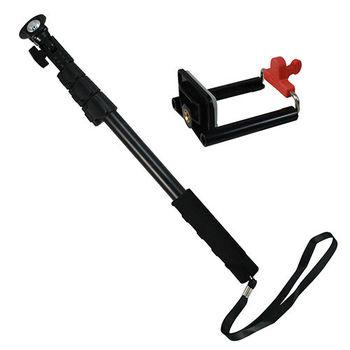 【i-shot】自拍達人 專業自拍桿 送手機夾 反光鏡設計 扳扣式腳管 桿身凹槽設計
