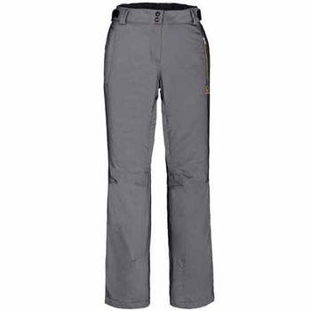 【聖伯納 St.Bonalt】女-防水透氣保暖雪褲-黑灰(38039)