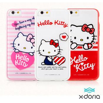 X-doria Hello Kitty iPhone6+ 5.5吋 保護殼-心悅系列