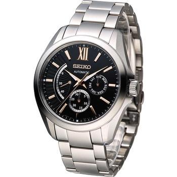精工 SEIKO BRIGHTZ 日系工藝機械腕錶 6R21-00W0K