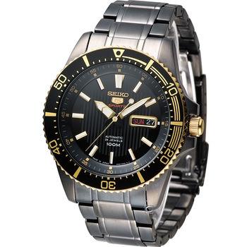 SEIKO SPORTS 精工5號機械腕錶 4R36-03J0SD