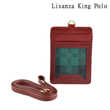【Lisanza King Polo】格紋通勤專用識別證