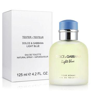 D&G Light Blue淺藍男性淡香水-Tester(125ml)