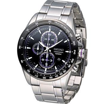 精工 SEIKO Criteria 極速快感計時腕錶 7T92-0SC0D SNDG19P1