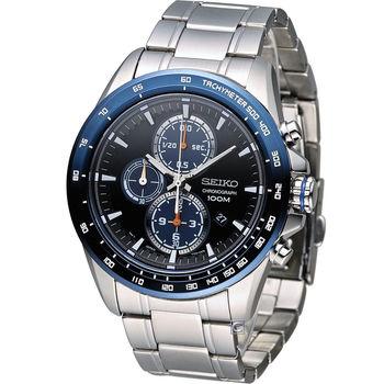 精工 SEIKO Criteria 極速快感計時腕錶 7T92-0SC0B SNDG25P1
