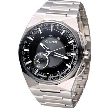 星辰 CITIZEN GENTS 科技工藝先驅衛星對時旗艦腕錶 CC2006-53E