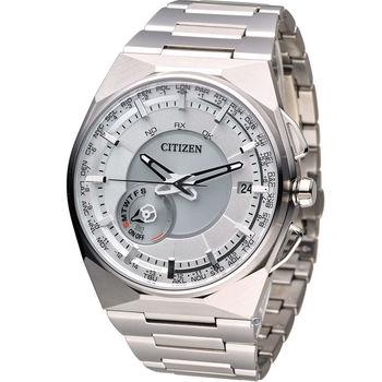 星辰 CITIZEN GENTS 科技工藝先驅衛星對時旗艦腕錶 CC2001-57A