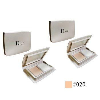 《Christian Dior 迪奧》逆時完美粉餅3g*2入(色號#020)粉嫩膚色
