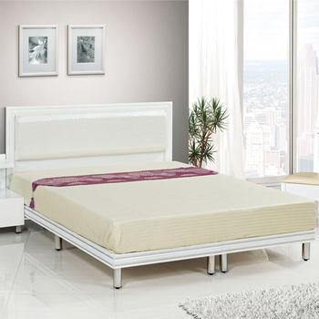 【時尚屋】[G15]珍珠純白色3.5尺加大單人床081-11+081-12(床頭+床架)