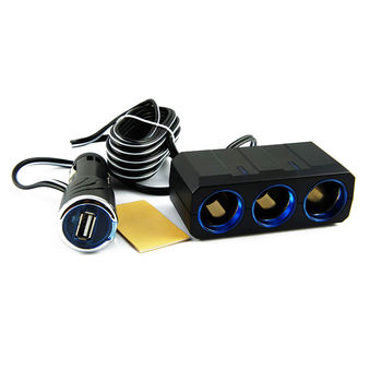 【YAC】3m延長線三孔附USB插座(PZ-621/車充/充電/擴充/轉換器)