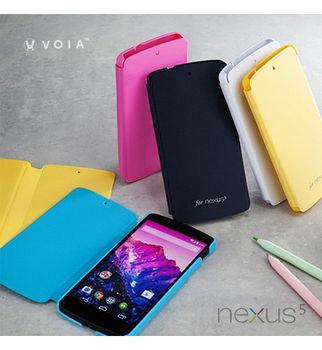 VOIA LG Nexus 5 D821 專用繽紛側翻皮套