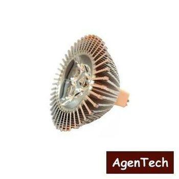 【AgenTech】LED MR16投射杯燈 5W黃(2入)