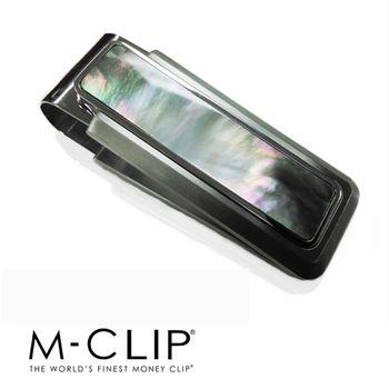 美國設計品牌 - M-CLIP 鈔票夾 - 限量天然黑色珍珠貝