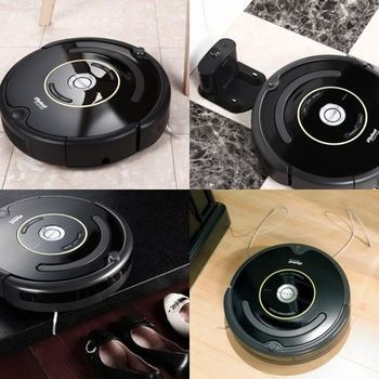【美國iRobot】Roomba 650預約定時吸塵掃地機器人【最新800系列變壓充電座合體版】