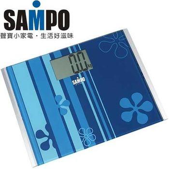 【SAMPO聲寶】大螢幕視窗體重計BF-L1105ML