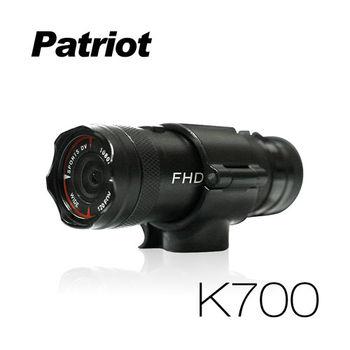 愛國者K700 超廣角120度防水型1080P 極限運動 機車行車記錄器(送16G TF卡)