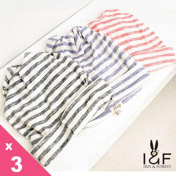 IFOREST棉質條紋脖圍兼煙囪帽112-0201(共3色)