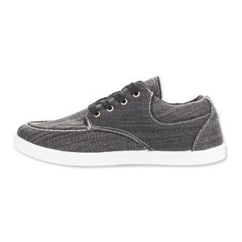 PLAYER 布面簡約休閒鞋(HP62) - 黑色