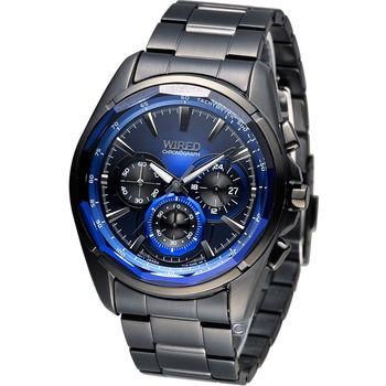 WIRED 東京龐克風計時腕錶 7T12-X002B AW8011X1