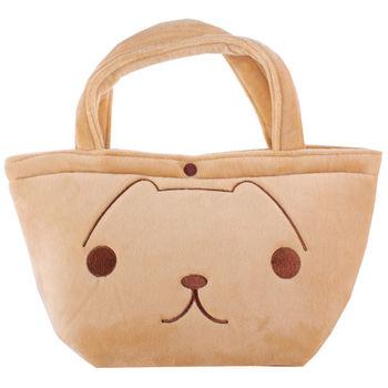 kapibarasan 水豚君毛絨系列萬用手提袋。水豚君