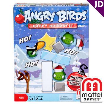 【美泰兒流行玩具】憤怒鳥桌上遊戲系列-憤怒鳥冬季假期限量版遊戲組