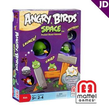 【美泰兒流行玩具】憤怒鳥桌上遊戲系列-太空遊戲組2