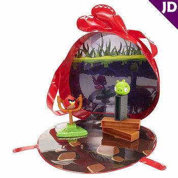 【美泰兒流行玩具】憤怒鳥桌上遊戲系列-提袋遊戲組