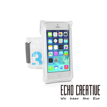【ECHO CREATIVE】Xtrm OSPREY iPhone 5/5S 天使白防水運動手臂包