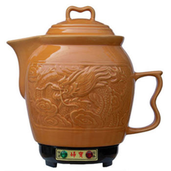 【婦寶】3.6L金龍陶瓷煎藥壺