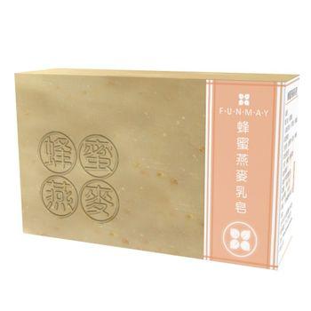 【芳美FUNMAY】蜂蜜燕麥手工皂(100g)