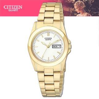 【CITIZEN 星辰】經典氣質指針女錶(EQ0562-54A)